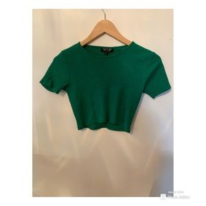 Green top from Topshop!!!